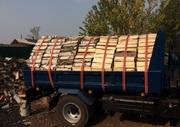 Сухие дрова (Колотые чурками) сосна,  лествяк береза осина